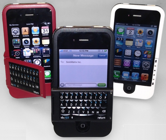 iphone  2 Cool iPhone Keyboard Cases