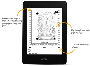 kindle e book reader amazon  The Brilliant New Kindle Paperwhite