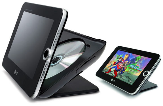 LG DP889 Portable DVD Player & Digital Photo Frame | Spot